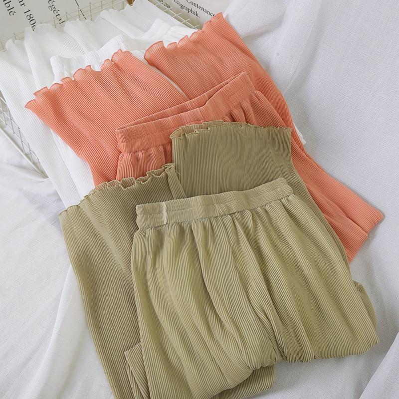 women's summer clothing Wild trousers harem cargo pants women