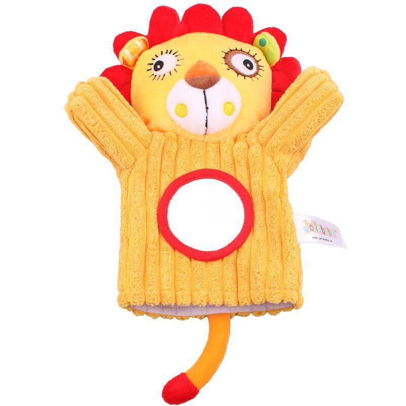 Djurhandduktor Tidig utbildningsupplysningsdocka Leksaker Föräldrar Spela Leksaker hand även Parent-barn interaktiva leksaker WJ532
