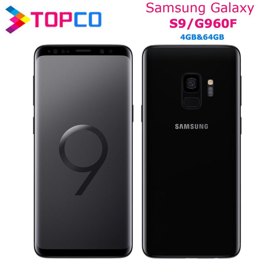 "Samsung Galaxy S9 G960F Original Android Handy 4G LTE Exynos 9810 Octa Core 5.8 ""12MP & 8MP RAM 4GB ROM 64GB NFC"