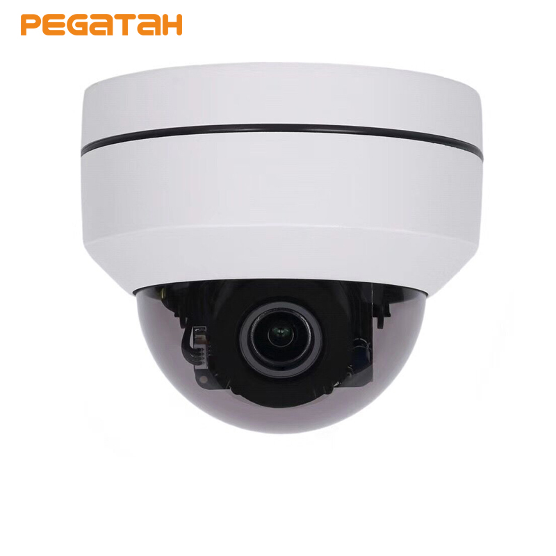 PTZ Speed Dome Camera IP 4MP HD Onvif 5X Zoom P2P H.264 30m IR Night Vision Waterproof Outdoor Dome POE PTZ IP Camera sricam hd p2p h 264 1 0mp ptz ip wireless wifi outdoor camera 720p night vision 15m ir cut cctv camera waterproof dome camera