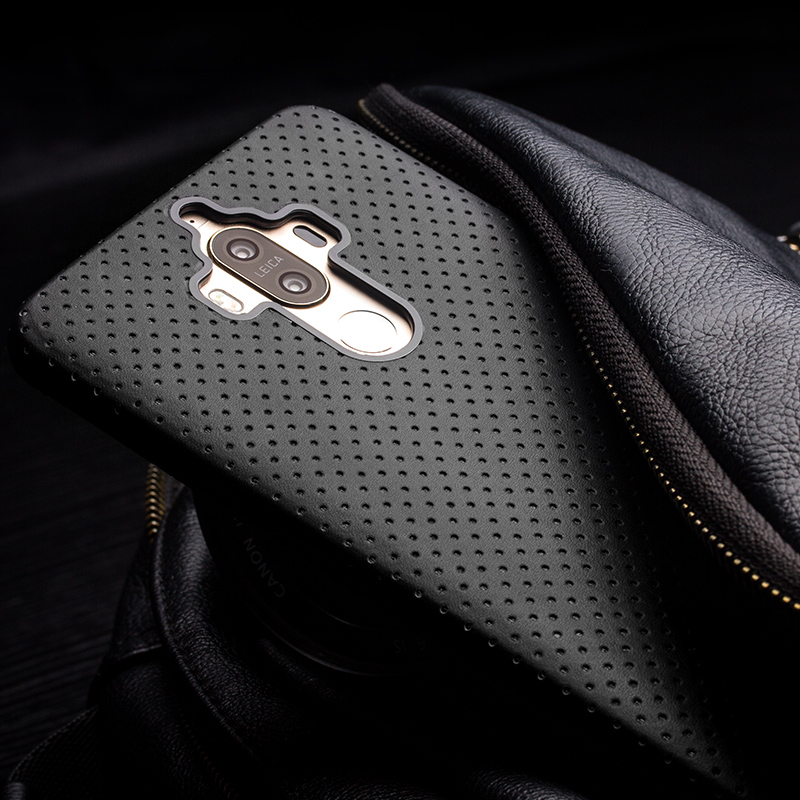 Huawei Mate9 Pro Lüks Geri Qutusu 5.9 / 5.5 düym olan Huawei Ascend - Cib telefonu aksesuarları və hissələri - Fotoqrafiya 6