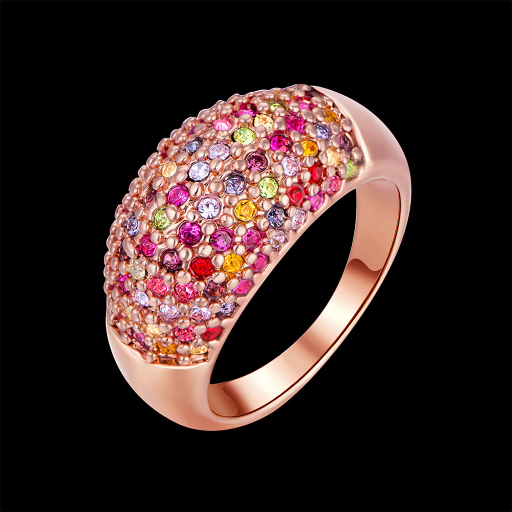 SOXY Hot Sale GP gold Color Ring Fashion Jewelry Ring Nickel Free ...