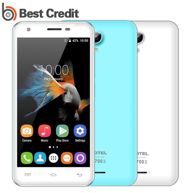 "2016 Oukitel C2 Cellphone Android 5.1 MT6580M Quad Core 4.5"" 854x480 5MP 8G ROM 1G RAM Dual SIM 1800mah Oukitel C2"