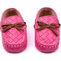 Новые детские малыш девушки парни бездельники мягкие искусственная кожа плоские Slip on кроватки малыша обувь