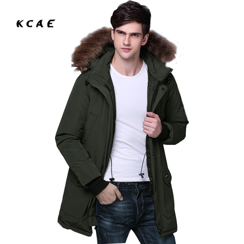 2017 New Men Padded Parka Winter Coat Thick Parkas With Fur Collar Couple Long Fashion Coat Mens Woman Free Shipping free shipping woman with thick warm winter leather fox fur fur fashion coat m xxl