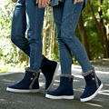 The new winter snow boots Korean fashion plus cotton velvet warm cotton shoes to help men lovers