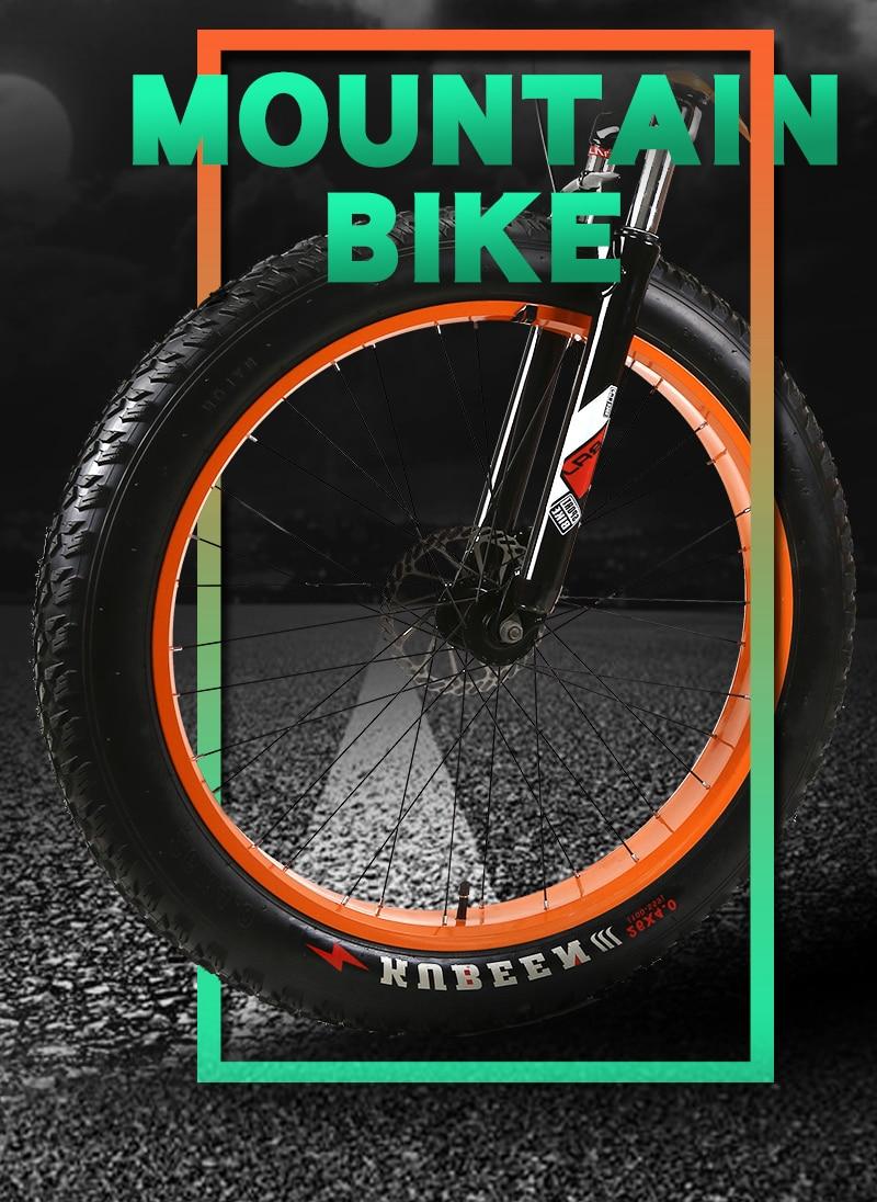 velocidades freios a disco bicicleta gorda 26