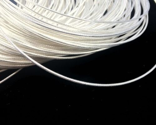 Free ship 10M/50M/100M PTFE Silver plated cable teflon wire 19AWG OD 1.6mm headphone cable DIY high temperature wire For sensor free shipping 100m acrolink silver plated 6n occ signal teflon wire cable 0 3mm2 dia 1 1mm for diy