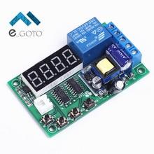 AC 55-270 В релейный модуль коммутатора Время срабатывания таймер задержки цикла цифровой Дисплей доска для eletromagnet Клапаны Двигатели