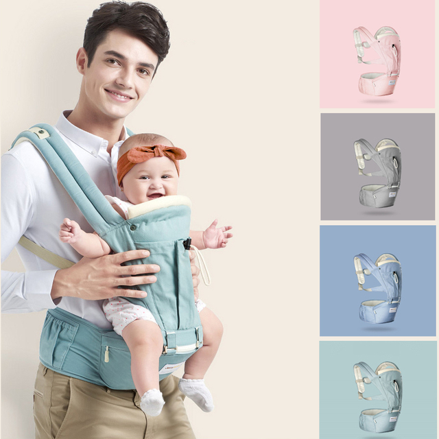 2017 Ergonomic Baby Carrier sling Breathable baby kangaroo hipseat backpacks & carriers Multifunction removeable backpack sling
