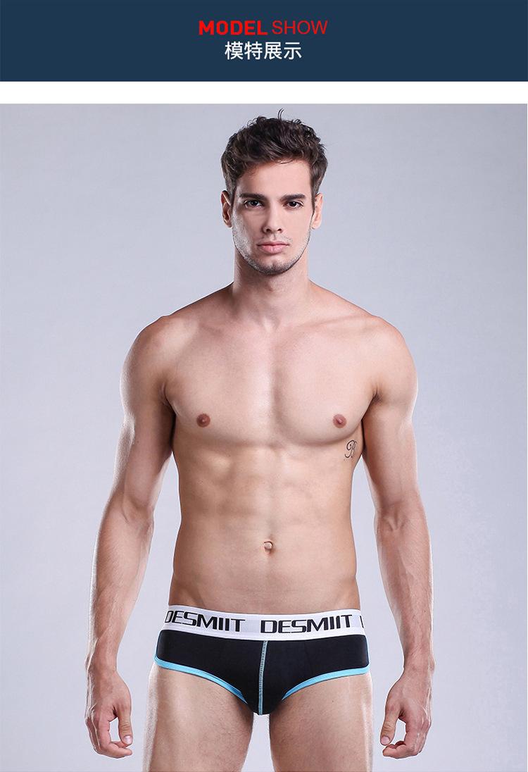 Topdudes.com - High Quality Men's Sexy Solid Comfortable Cotton Briefs Underwear