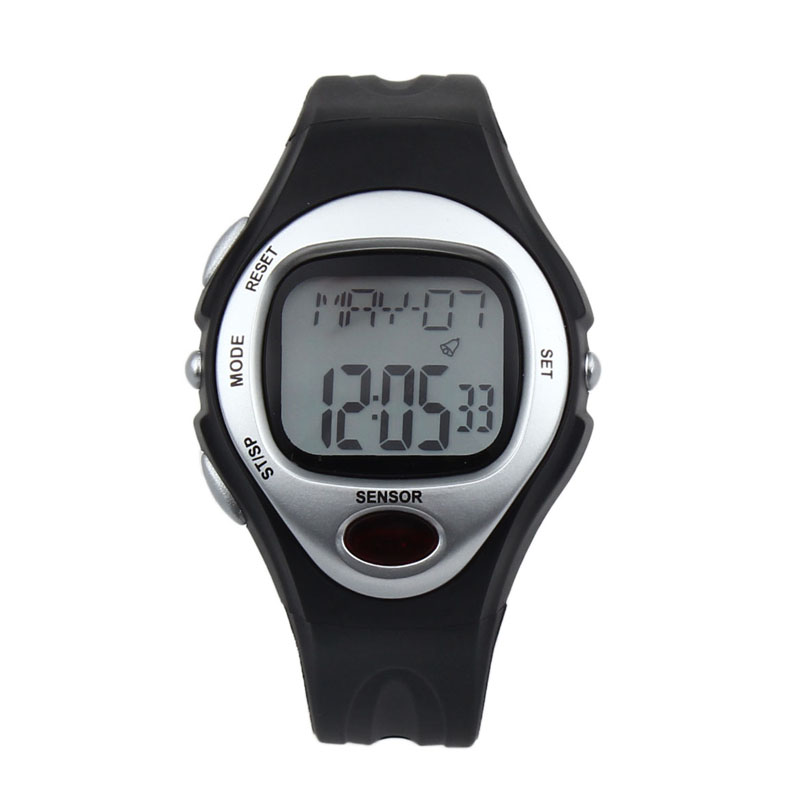 Men s Watches Sport Digital LCD Pulse Heart Rate Monitor Calories Counter Fitness Pedometer Digital watch