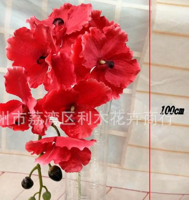 10pcs Manufacturers Direct Selling High End Simulation New Orchid