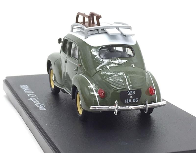 Image 3 - 1/43 продвинутый сплав 4CV спортивные сани игрушечные модели машин автомобиль винтажный вагон детские игрушки для сбора-in Отлитые под давлением и игрушечные автомобили from Игрушки и хобби