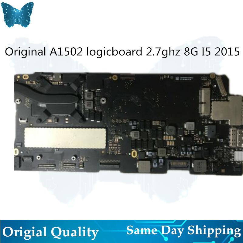 Carte mère originale A1502 pour Macbook Pro Retina 13' carte mère 2.7 ghz i5 8G année 2015
