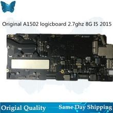Original A1502 Logic board for Macbook Pro Retina 13′ Motherboard 2.7ghz i5 8G Mainboard Year 2015