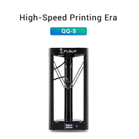 2019 High speed 3D Printer Flsun QQ S Auto Leveling Delta large printing size 3D Printer Touch Screen Wifi