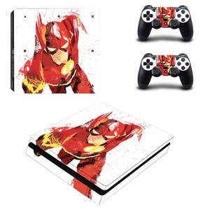 Flash Man PS4 Slim Skin Sticke