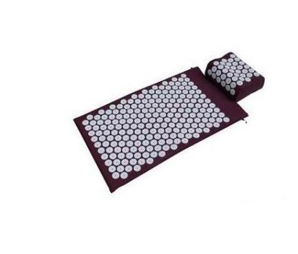 Hot-Acupressure Spike Yoga Pillow Mat Relieve Stress Pain Relief Acupuncture Cushion Neck Back Shakti Massager Body Relax купить