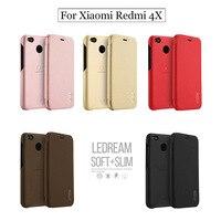 Lenuo Xiaomi Redmi 4X Case Xiaomi Redmi 4 X Case Stand Flip PU Leather Luxury Wallet