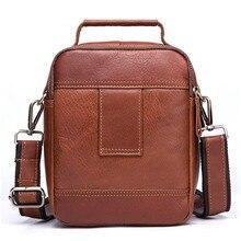Genuine Leather Messenger Bag Men's Shoulder Bag