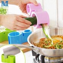 1PC Vegetable Spiralizer Spiral Slicer Pasta Noodle Cutter + Sharpener 4 Colors Spaghetti Maker Julienne Peeler Carrot Grater