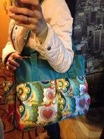 Hot!! Mooie veelkleurige baby luier tas Grote capaciteit modieuze moeder moederschap tas kinderwagen luiertas Mama bag 4