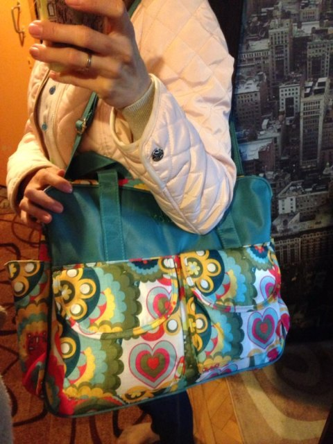 Multicolored Baby Diaper Bag Large Fashionable