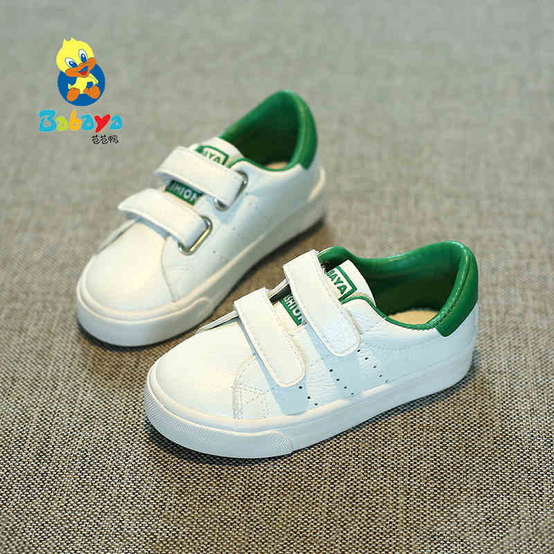 High quality Children Shoes Boys kids casual shoes girls fall 2017 New Spring Autumn white sports shoes fashion kids shoes