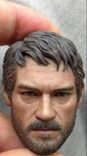 1/6 Joel The Last of Us Male Head Sculpt For Hot Toys PHICEN action Figure toys