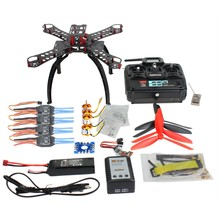 F14891-F QQ SUPER Multi-rotor Flight Control DIY 310mm Carbon Fiber Multicopter Kit Radiolink 6CH TX&RX 1400KV Motor 30A ESC