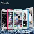 Tmalltide caso à prova d' água para iphone 6 6 s plus 5 5S se casos de cobertura de caso de telefone à prova de choque anti-sujeira e à prova de água