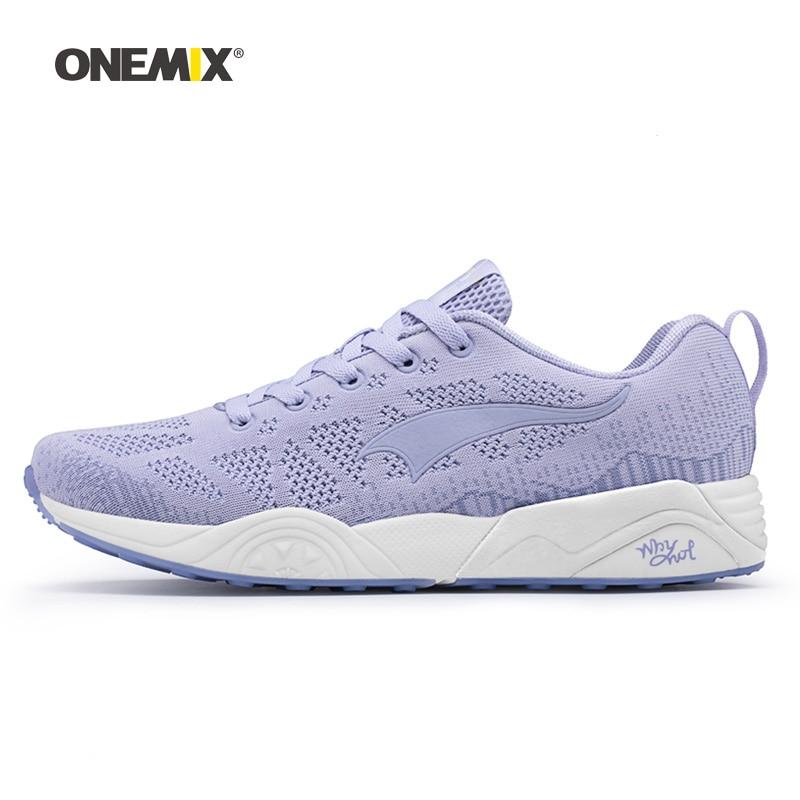 ONEMIX Men Running Shoes for Women Lightweight Retro Mesh Breathable Trail Athletic Sport Outdoor Trekking Walking