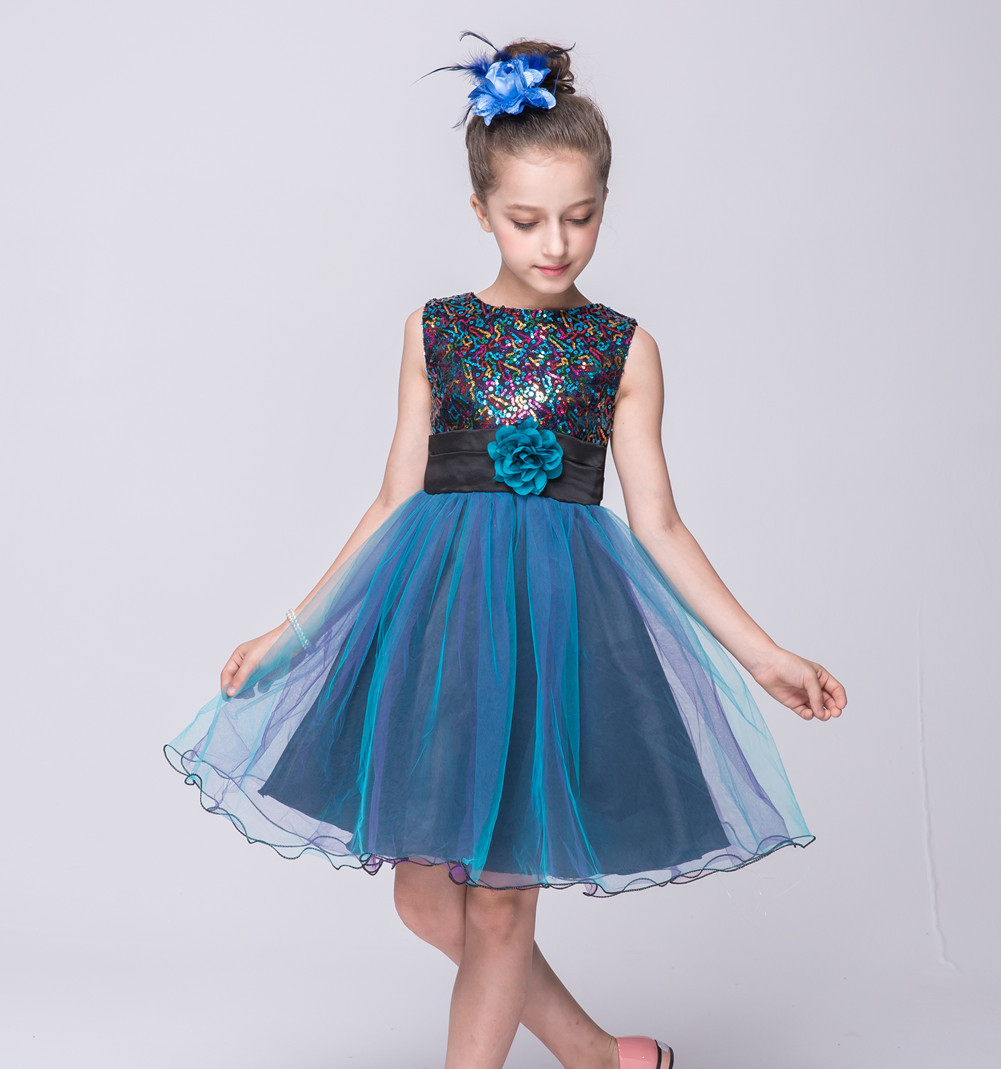 Colorful Dress Party Girl Motif - All Wedding Dresses ...