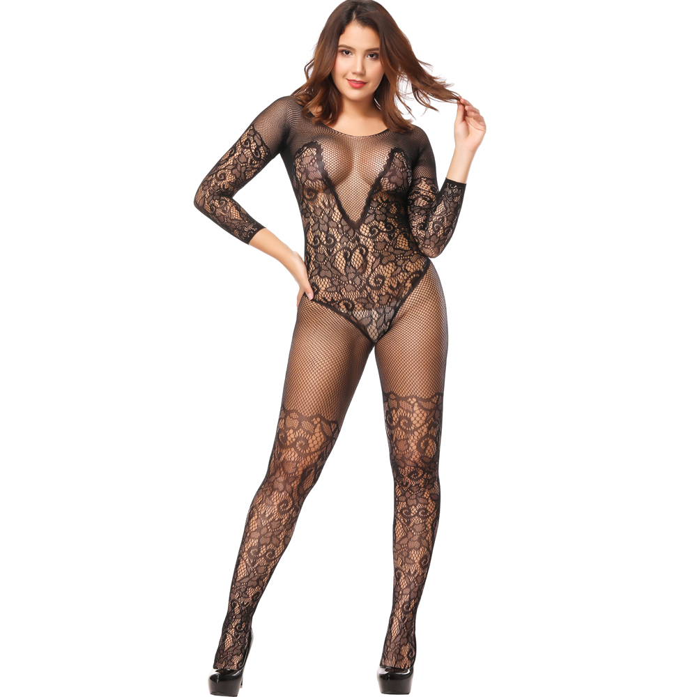 Women Sexy Lingerie Plus Size Hot Erotic Underwear Babydoll Fishnet Sleepwear Muply Sex Costumes Lenceria Erotica Mujer Sexi
