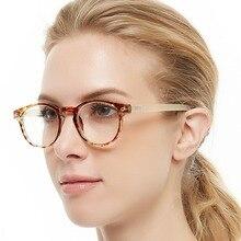 OCCI CHIAR Round Reading Glasses 1.25 Anti-fatigue Presbyopic Eyeglasses Frame Women +1.75 +2.25 +2.5+2.75 +3 +3.5