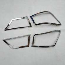 For kia Cerato k3 4 2019 Forte 3 Plastic Chrome Rear Tail Light lights Lamp Trim Cover Accessories