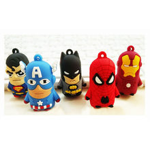 1pc Avengers Infinity War Hulk Iron Man Spiderman Thanos Captain America Ant Thor Loki Grooted Action Figures Keychain Toy(China)