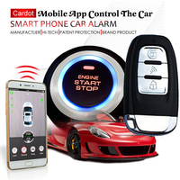cardot 2018 new gsm car alarm system with passwords keyless entry ignition start stop button online gps tracking online shop