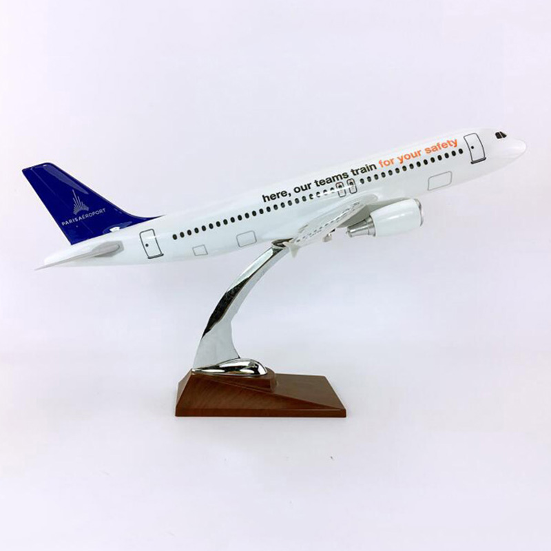 36CM 1 100 Airbus A320 200 Model AEROPORTS DE PARIS Airlines With Base Alloy Aircraft Plane