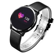 Pedometer Smart Watch Men Women Heart Rate Blood Pressure Oxygen Monitor OLED Screen Bluetooth Sport Wearable Devices