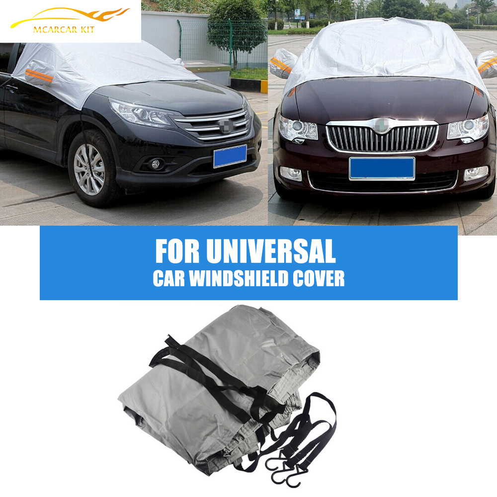 car windshield cover protector winter waterproof frost snow shield shade cover in car covers. Black Bedroom Furniture Sets. Home Design Ideas