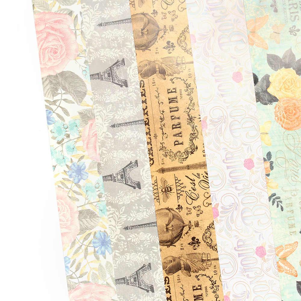 50x70 cm Hediye Avrupa Tarzı sarma kağıdı rulosu Düğün Çocuklar için Doğum Günü Tatil Bebek Duş Hediye Paketi kraft el işi kağıdı Dekor Hediyeler