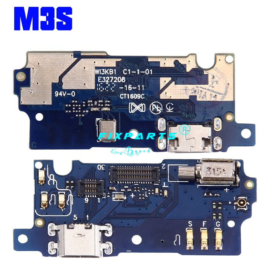 Meizu M1 M2 M3 M5 M6 Note U10 M3S Dock Port USB Charging Dock Charger Connector Plug Board Flex Cable Replacement Repair Parts (11)