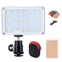 SOKANI luz LED para cámara tamaño bolsillo X21, TLCI/CRI 97 3200/5600K, pantalla OLED, batería de 1600mA, aluminio, PK Aputure AL M9