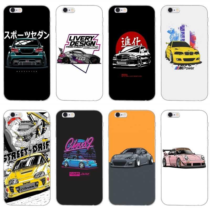 JDM Sticker Bomb Drifting Cars iphone case