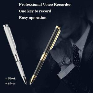 Image 5 - V1 المخرب المهنية قلم تسجيل صوت المحمولة HD تسجيل مسجل الصوت الحد من الضوضاء العدالة الصغيرة الحصول على الأدلة