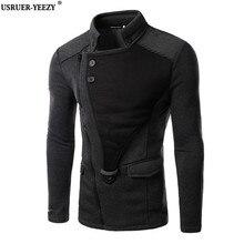USRUER-YEEZY Продвижение Мужчины Толстовки Бренд Дизайнер мужские Кофты Assassins Creed Толстовка Повседневная Спортивная Одежда Мужской Молния Куртки