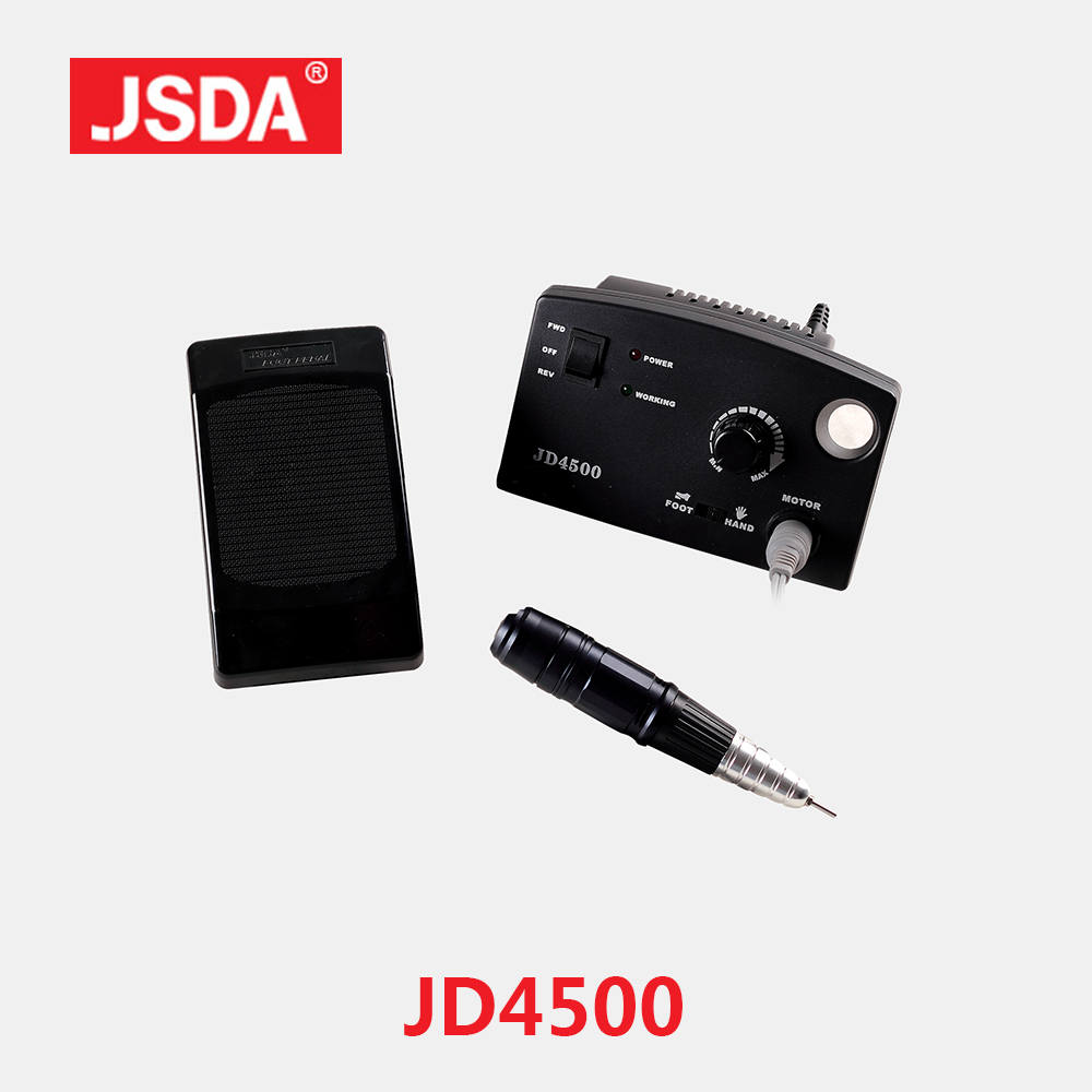 Free Shipping 2018 Direct Selling Real Jsda Nails Art Equipment Nail Drills Machine Electric Drill Manicure Pedicure Bits File