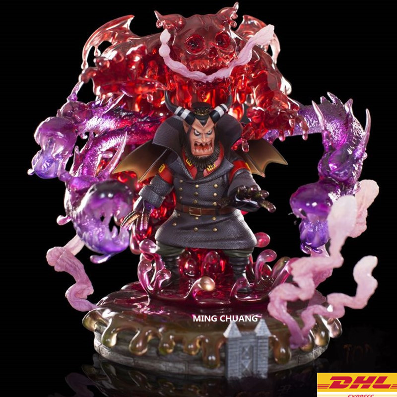 Statue ONE PIECE Impel Down Bust Sitting Magellan GK 30CM Action Figure Collectible Model Toy BOX D699 11 statueone piece seven warlords of the sea sitting jinbe bust gk action figure collectible model toy box d621